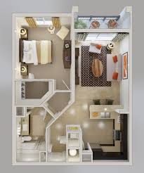 Modern One Bedroom Apartment Design 1 Bedroom Apartment House Plans