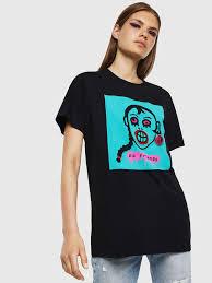 <b>Womens T</b>-<b>shirts</b> and Tops | Diesel Online Store US
