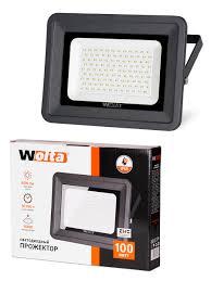 Светодиодный <b>прожектор Wolta WFL</b>-<b>100W</b>/<b>06</b>, 5500K, <b>100 W</b> ...