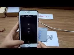 eachen <b>wifi</b> curtain wall switch using <b>tuya smart life</b> app