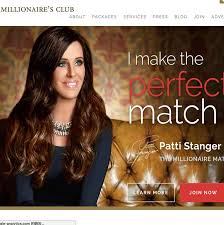 Top    Elite Dating Sites   Rich Men  Millionaires  Elite Singles      Millionaires club is the most expensive millionaire dating website in the world  It was launched in      by the very famous matchmaker Patti Stanger