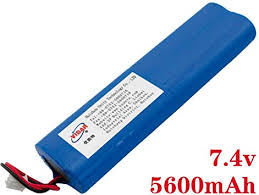 7.4V <b>5600mAh Rechargeable Lithium Batteries</b> - VIDAR High ...