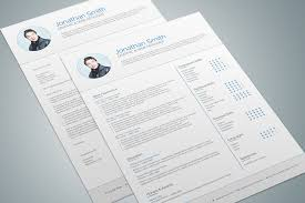 modern resume template by maruf on modern resume template 03 by maruf1