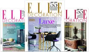 Подписка - <b>Журнал ELLE Decoration</b> – www.elle.ru