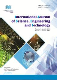 cover page international journal of science engineering and cover page