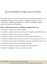 topschedulingmanagerresumesamples lva app thumbnail jpg cb