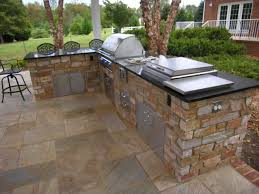 set cabinet full mini summer: also flower cabinet set sandstone cabinet for summer kitchen idea with travertine tiles and backyard landscape view