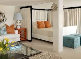 living room with bed: glenwood  glenwood
