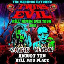 <b>Rob Zombie</b> & Marilyn Manson