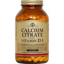 <b>Solgar Calcium Citrate With</b> Vitamin D3 Tablets, 240.00 ea – Central ...