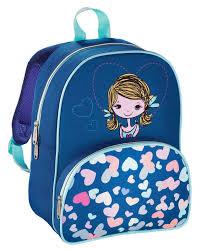 Рюкзак детский <b>Hama LOVELY GIRL синий</b>/голубой - купить ...