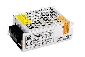<b>Блок питания</b> в сетчатом корпусе <b>AC</b>-<b>230</b>/<b>DC</b>-<b>12V</b>, <b>IP20</b>, 40W ...