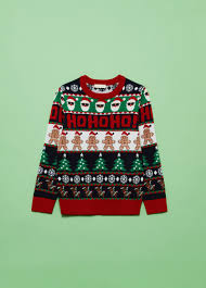 Christmas jumper with round neck and <b>Christmas pattern</b>   OVS-ES