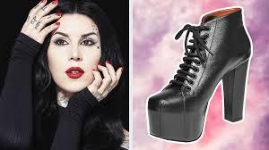 <b>Kat Von D's</b> New Vegan Shoe Line Is Made From Apples ...