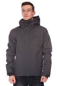Купить <b>куртку</b> Quiksilver Mission Plus <b>Jacket Asphalt</b> (EQYTJ00106 ...
