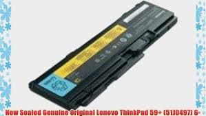 <b>New</b> Sealed <b>Genuine Original</b> Lenovo ThinkPad 59 (51J0497) 6 ...