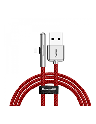 Кабель <b>Baseus</b> Lightning Iridescent Lamp <b>Mobile</b> Game Red 1м ...