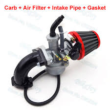 PZ22 <b>Carburetor</b> 22mm <b>Carb Intake</b> Pipe 38mm <b>Air</b> Filter For 110cc ...