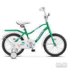 """<b>Велосипед STELS Wind</b> колеса 14""""и <b>16</b> (рама 9.5 и 11, Зеленый ..."""