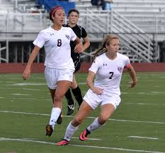 pirates stay undefeated win over perrysburg west life rocky river forwards abby elinsky left and grace bennett are the offensive leaders for the state ranked pirates photo ryan kaczmarski
