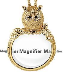 KESTYLE Unique Design Magnifying Glass Necklace ... - Amazon.com