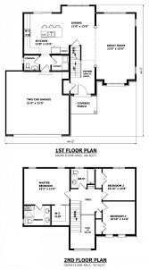 Small Double Storey House Plans Architecture    toobe     Architecture Medium size Two Storey House Floor Plan A Small Contemporary House In Double Storey Design