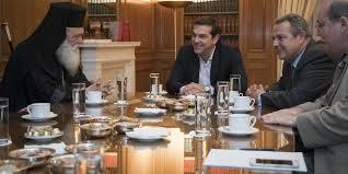 Αποτέλεσμα εικόνας για συνάντηση τσίπρα ιερώνυμου 5 οκτωβρίου 2016