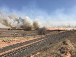 extreme weather variability preceded southern great plains the dumas complex fire burned 28 800 acres in texas catastrophic fires also raged in kansas and oklahoma photo texas a m forest service