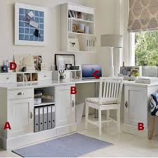 distressed furniture corner unit and home office desks on pinterest chic home office bedroom