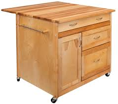 leaf kitchen cart: catskill deep drawer kitchen island with quot x quot drop leaf top