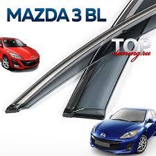 <b>Дефлекторы окон CHROME</b> LINE (Хэтчбек) на Mazda 3 BL