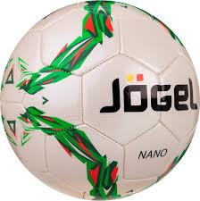 Купить <b>футбольный мяч Jogel</b> JS-210 Nano №4 white/green, цены ...