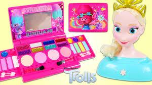 Trolls <b>Cosmetic</b> Set <b>Beauty Glitter Makeup</b> and Accessories with ...