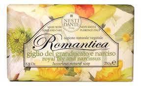 Купить мыло <b>Romantica</b> Royal Lily &amp; Narcissus Soap 250г