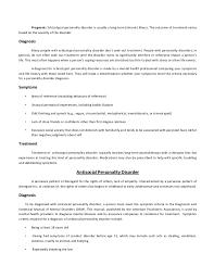 Personality disorder final SlideShare