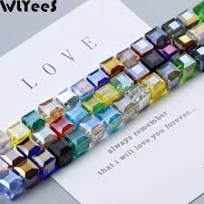 <b>WLYeeS</b> 6*4mm Bread Shape <b>Austrian</b> crystal Beads Faceted Glass ...
