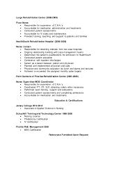 registered nurse resume      largo rehabilitation