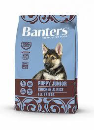 Купить со скидкой <b>Сухой корм Banters Puppy</b> Junior Chicken ...