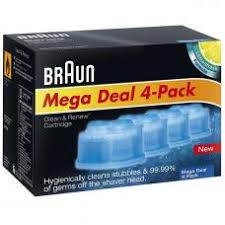<b>Картридж Braun CCR4</b> для очистки бритвы купить в интернет ...