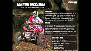 jarrod mcclure s sponsorship resume jarrod mcclure s 2015 sponsorship resume