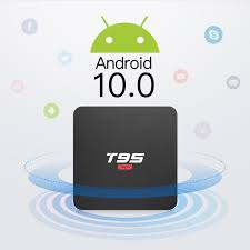 <b>T95 Super Allwinner H3</b> Android 10.0 TV box set top box 2G + 16g ...