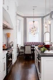 eat in kitchen breakfast area bgdb interior design arteriors soho industrial style pendant light fixture