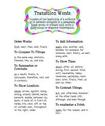 transitional phrases for essays
