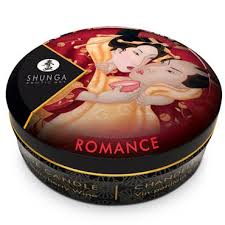 Shunga Massage Candle <b>Sparkling Strawberry</b> Wine, 30 мл ...