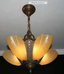 antique light fixtures best vintage yellow metal glass artistic lighting fixtures
