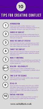 best ideas about writing tips writers 10 things every writers needs to know about conflict