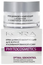 Kora Phytocosmetics <b>Крем дневной матирующий для</b> лица для ...