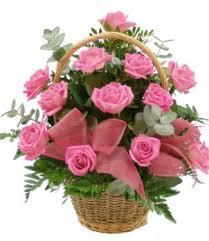 Resultado de imagen de cestas de flores