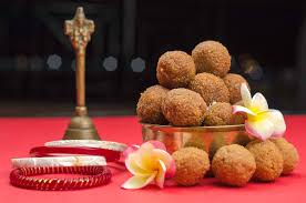Image result for images of laddu offering to baba