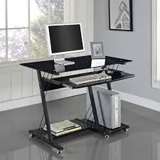 full size of desk breathtaking rectangle black metal mobile computer desk simple keyboard and mouse black metal computer desk